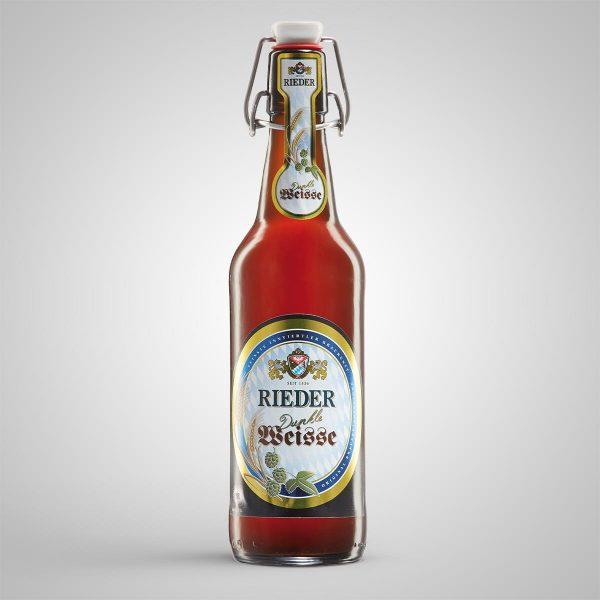 Rieder Dunkle Weisse 0,50 l Rieder Bier