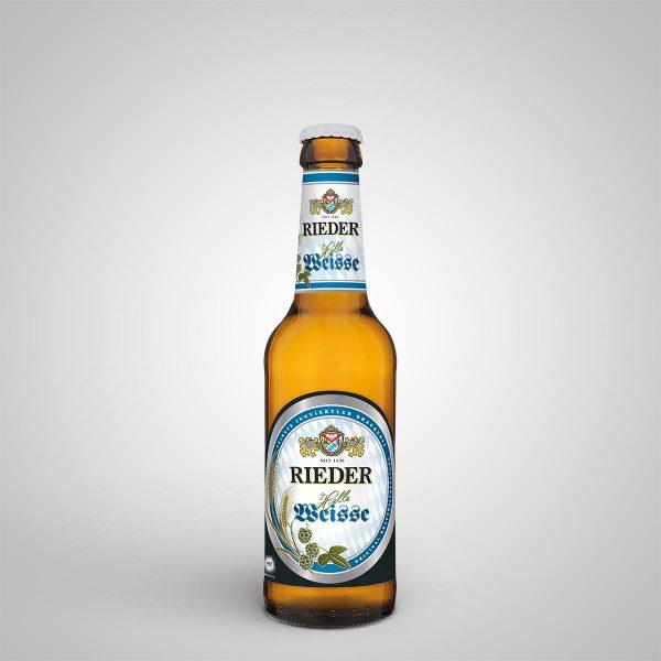 Rieder Helle Weisse 0,33 l Rieder Bier