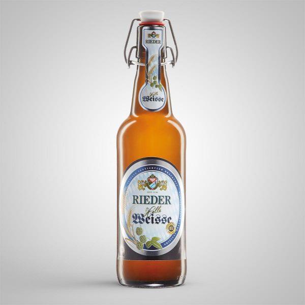Rieder Helle Weisse 0,50 l Rieder Bier
