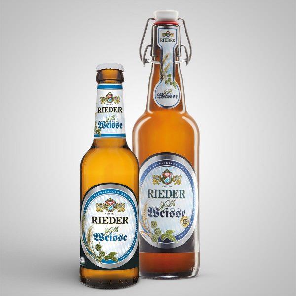 Rieder Helle Weisse Rieder Bier