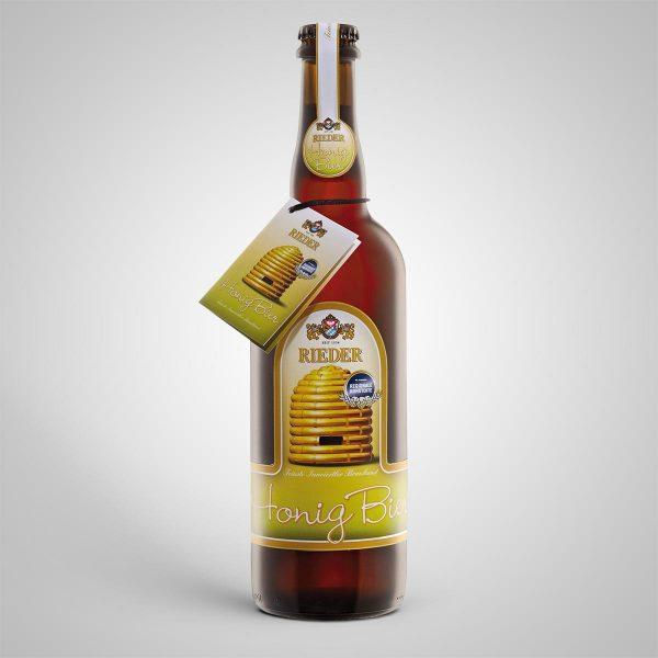 Rieder Honig Bier 0,75 l