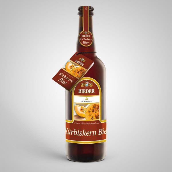 Rieder Kürbiskernbier 0,75 l