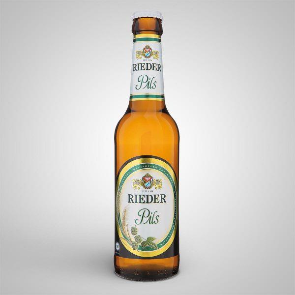 Rieder Pils 0,33 l Rieder Bier