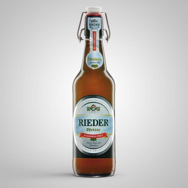 Rieder Weisse alkoholfrei 0,50 l