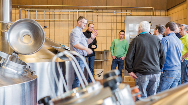 Brauereibesichtigung Brauereiführung