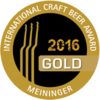 Craft Beer Medaille Gold 2016