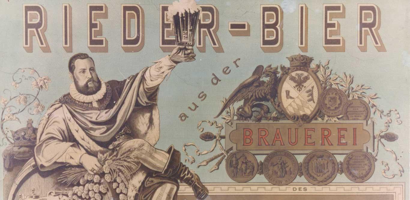 Geschichte Rieder Bier Brauerei
