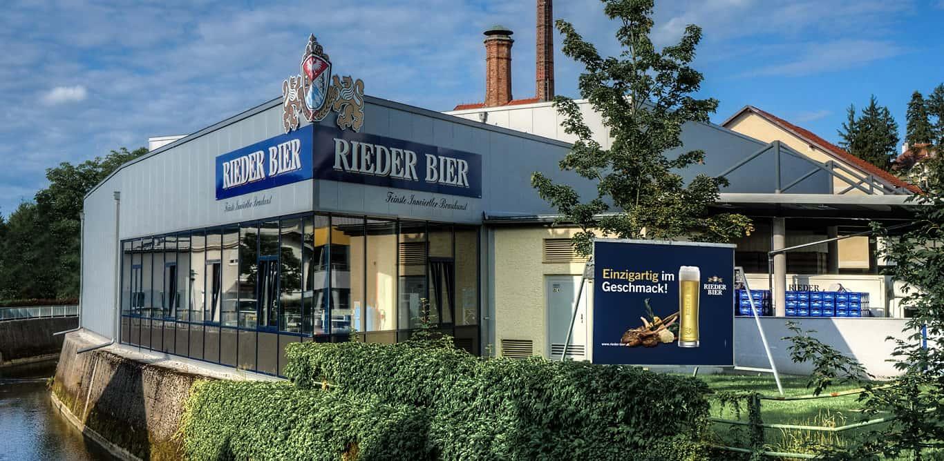 Shop Verkauf Rieder Bier